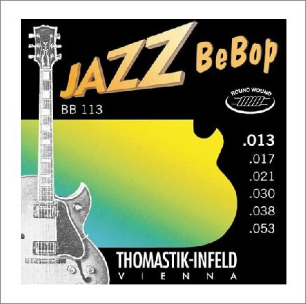 Струны для электрогитары Thomastik 13-53 BB113 Jazz BeBob