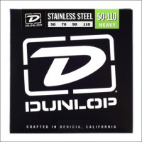 ​Струны для бас-гитары Dunlop 50-110 Stainless Steel Bass DBS