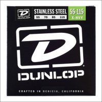 ​Струны для бас-гитары Dunlop 55-115 Stainless Steel Bass DBS