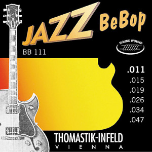 Струны для электрогитары Thomastik BB111 Jazz BeBob 11-47