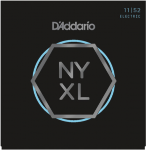 Струны для электрогитары D'Addario NYXL1152 Medium To Heavy Bottom 11-52 NYXL
