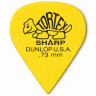 ​Медиаторы Dunlop 412P.73 Tortex Sharp 0,73 мм набор из 12 шт