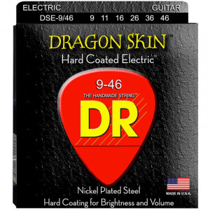 DR Strings DSE-9/46 Dragon Skin Clear Coated Electric 9-46 струны для электрогитары