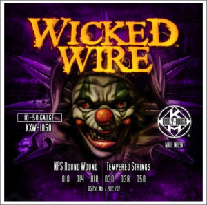 ​Струны для электрогитары KERLY KXW-1050 Wicked Wire NPS Round Wound Tempered 10-50