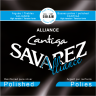 Savarez 510AJH Alliance Cantiga Polished Basses High Tension струны для классической гитары