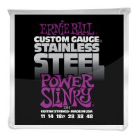 Струны для электрогитары Ernie Ball 2245 Power Slinky Stainless Steel 11-48