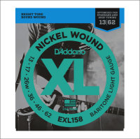 Струны для электрогитары D'Addario EXL158 13-62 Nickel Wound