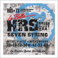​Струны для электрогитары La Bella HRS-73 Hard Rockin Steel 10-64