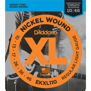 Струны для электрогитары D'Addario 10-46 EKXL110 Nickel Wound