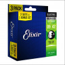 Струны для электрогитары Elixir 16550 Optiweb 9-42 Super Light, 3 комплекта
