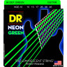 DR Strings NGE-10 NEON Green Electric 10-46 Medium струны для электрогитары