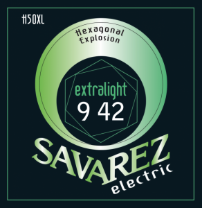 Savarez H50XL Hexagonal Explosion Extra Light, струны для электрогитары 9-42