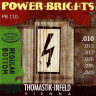 Струны для электрогитары Thomastik 10-45 PB110 Power-Brights Regular Bottom
