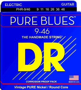 DR Strings PHR-9/46 Pure Blues Pure Nickel Electric 9-46 струны для электрогитары