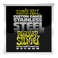 Струны для электрогитары Ernie Ball 2246 Regular Slinky Stainless Steel 10-46