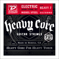 Струны для электрогитары Dunlop 10-60 DHCN Heavy Core NPS Heavy7