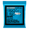 Струны для электрогитары Ernie Ball 2255 Extra Slinky Classic Rock N Roll Pure Nickel  8-38