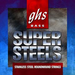 Струны для бас-гитары GHS 5ML-STB 5-String Super Steels Medium Light 44-121