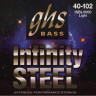 Струны для бас-гитары GHS ISBL5000 Infinity Steel Light 40-102