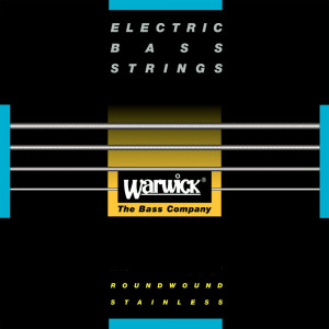 Warwick 40300ML5B Black Label струны для бас-гитары 40-130, сталь
