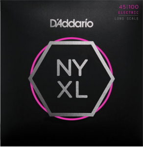 ​Струны для бас-гитары D'Addario NYXL45100 Long Scale, Regular Light 45-100 NYXL