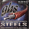 Струны для бас-гитары GHS ISBML5000 Infinity Steel Medium Light 44-102