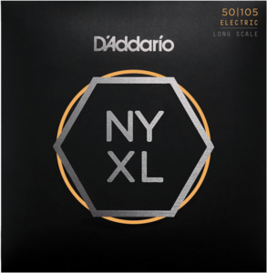Струны для бас-гитары D'Addario NYXL50105 Long Scale, Medium 50-105 NYXL