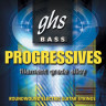 Струны для бас-гитары GHS L8000 Progressives Light 40-100