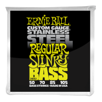 Струны для бас-гитары Ernie Ball 2842 Regular Slinky Bass Stainless Steel 50-105