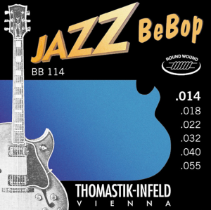Струны для электрогитары Thomastik BB114 Jazz BeBop 14-55