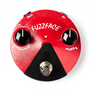 Dunlop FFM2 Germanium Fuzz Face Mini Distortion педаль гитарная фузз