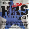 Струны для электрогитары La Bella HRS-MB Hard Rockin Steel Medium Blues 11-52