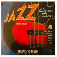 ​Струны для бас-гитары Thomastik JR364 Jazz Round Wound 43-101 Super Long Scale