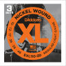 Струны для электрогитары D'Addario 10-46 EXL110-3D XL Nickel Wound
