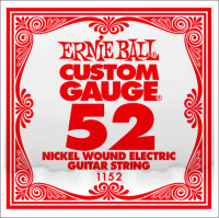 ​Одиночная струна для электрогитары Ernie Ball 1152, Nickel Wound, 52