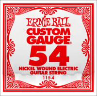 ​Одиночная струна для электрогитары Ernie Ball 1154, Nickel Wound, 54