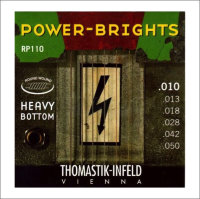 Струны для электрогитары Thomastik RP110 10-50 Power-Brights Heavy Bottom