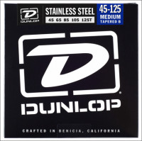 ​Струны для бас-гитары Dunlop 45-125T Stainless Steel Bass DBS 45-125
