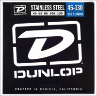 ​Струны для бас-гитары Dunlop 45-130 Stainless Steel Bass DBS