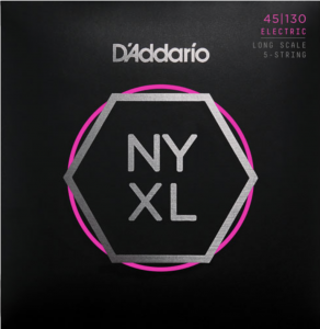 Струны для бас-гитары D'Addario NYXL45130 Regular Light NYXL 45-130