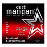 ​Струны для электрогитары Curt Mangan Pure Nickel Wound Electric 11-52 15511