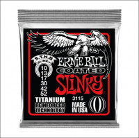 ​Струны для электрогитары Ernie Ball 3115 RPS Coated Titanium Skinny Top Heavy Bottom 10-52