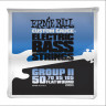 Струны для бас-гитары Ernie Ball 2804 50-105 Flat Wound Bass Group II