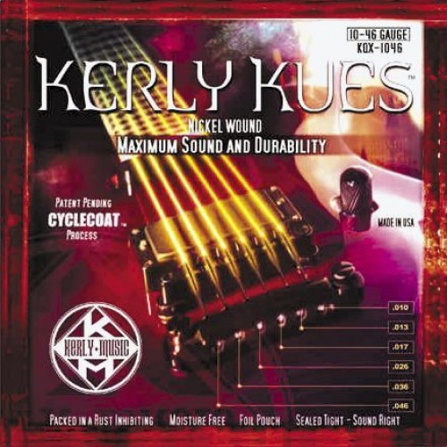 ​Струны для электрогитары KERLY KQX-1046 Kues 10-46
