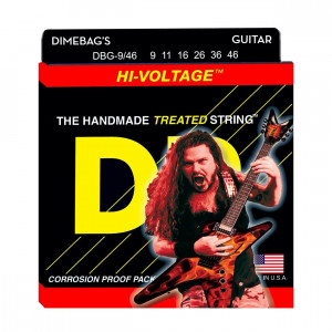 DR DBG-9/46 Dimebag Hi-Voltage 9-46 струны для электрогитары