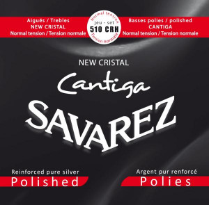 Savarez 510CRH new cristal catiga polished normal tension cтруны для классической гитары