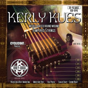 Струны для электрогитары Kerly KQX-0946 Kues 9-46