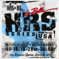 ​Струны для электрогитары La Bella HRS-BL Nickel Rounds Blues Light​ 11-50
