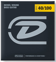 ​Струны для бас-гитары Dunlop DBN​40100 Nickel Plated Steel 40-100