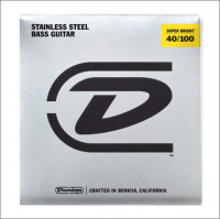 ​Струны для бас-гитары Dunlop 40-100 Super Bright Steel Bass DBSBS